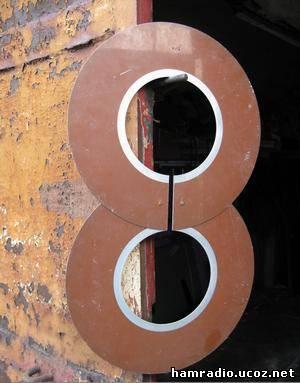 Антенна из магнитных дисков своими руками 57
